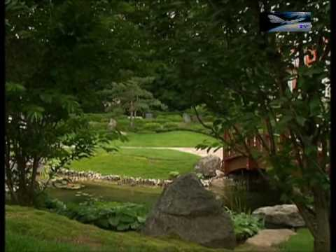 Japanischer Garten Von Bad Langensalzaavi Youtube