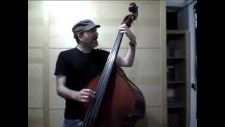 Agustín Lozano - Air in the G string (Bach) - Double Bass and voice