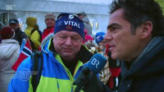 Reportage about Biathlonfest in Ruhpolding (with Vanessa Hinz)