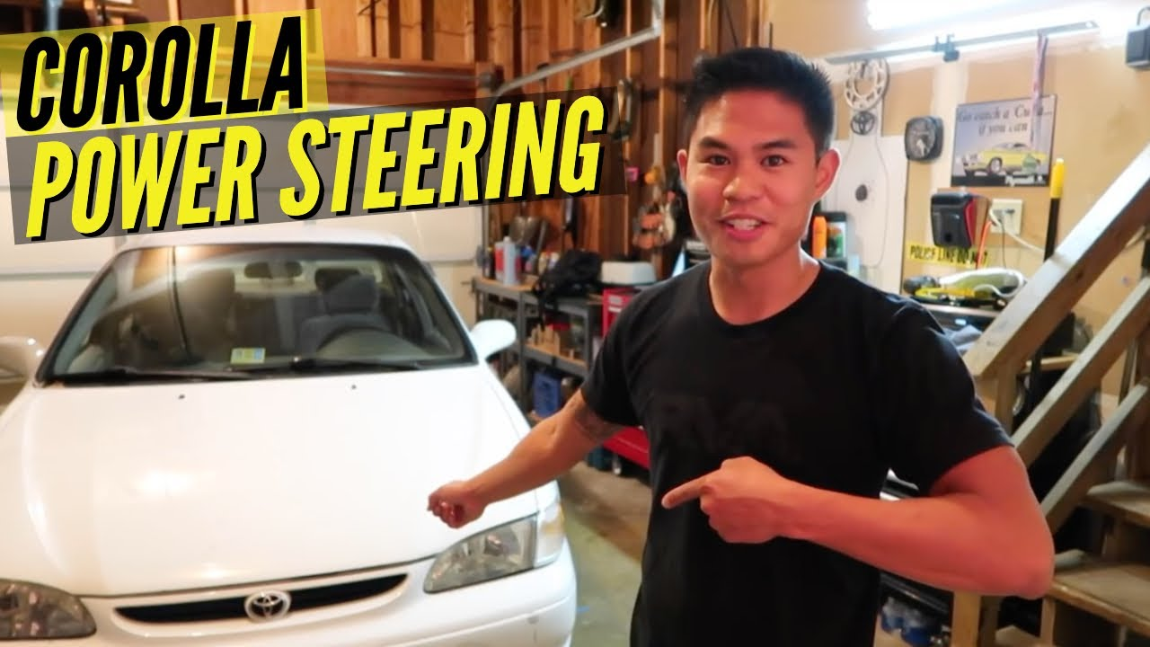 HOW TO: Toyota Corolla Rack and Pinion (Power Steering Fix)  YouTube