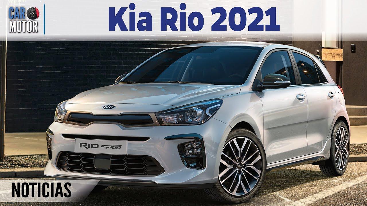 nuevo kia rio 2021🚗  ahora es híbrido😱🔋  car motor