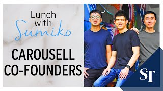 Carousell co-founders: Passion key to keeping start-ups alive | Lunch With Sumiko | ST screenshot 3