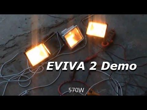 Free Energy QMOGEN Motor-Generator - EVIVA 2 free energy unit