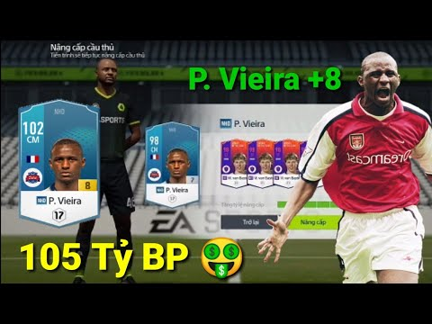 FIFA Online 4 : Màn Khai Xuân Canh Tý Nâng Cấp P. Vieira NHD +8 105 Tỷ BP Và Cái Kết?