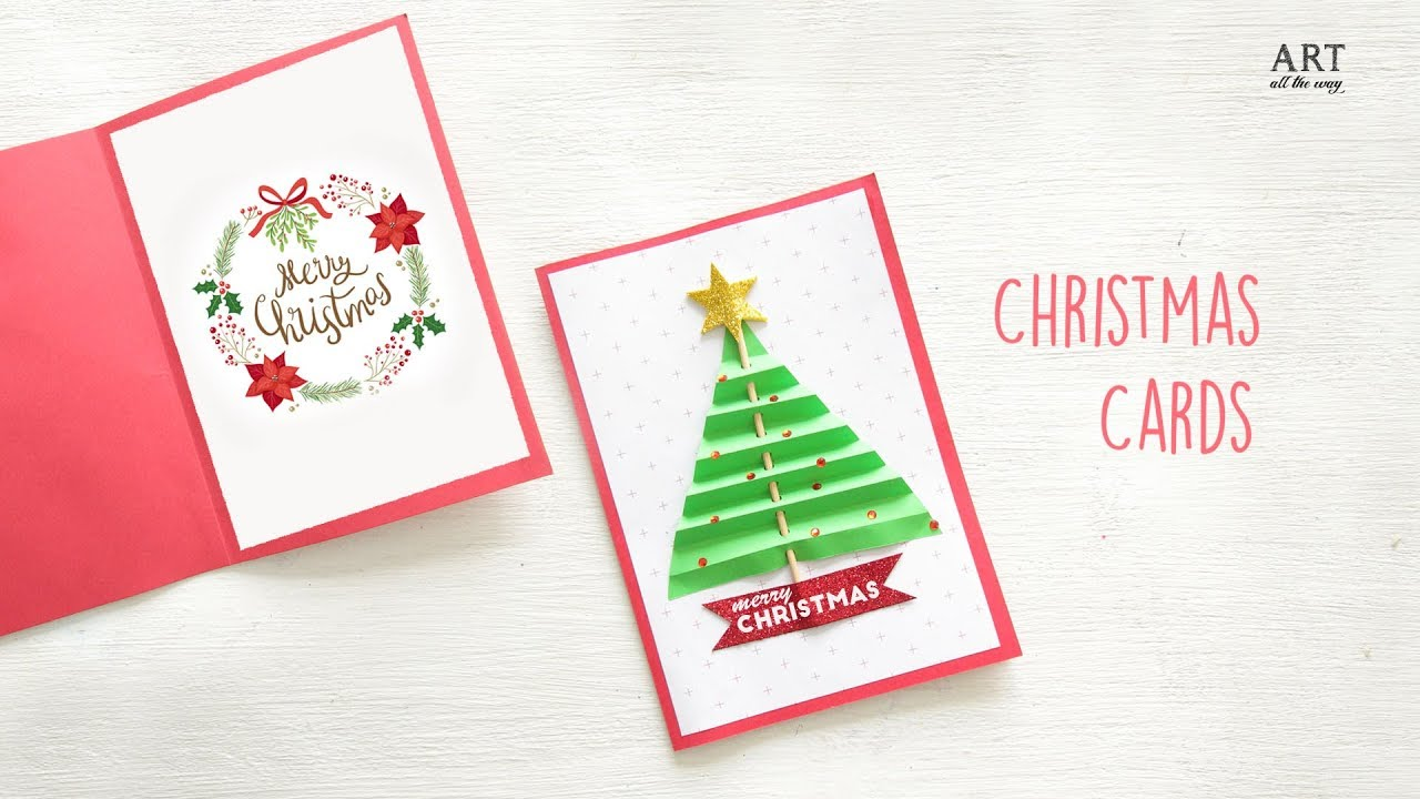 Christmas Cards Images.Diy Christmas Card Diy Holiday Card Ideas Christmas Craft