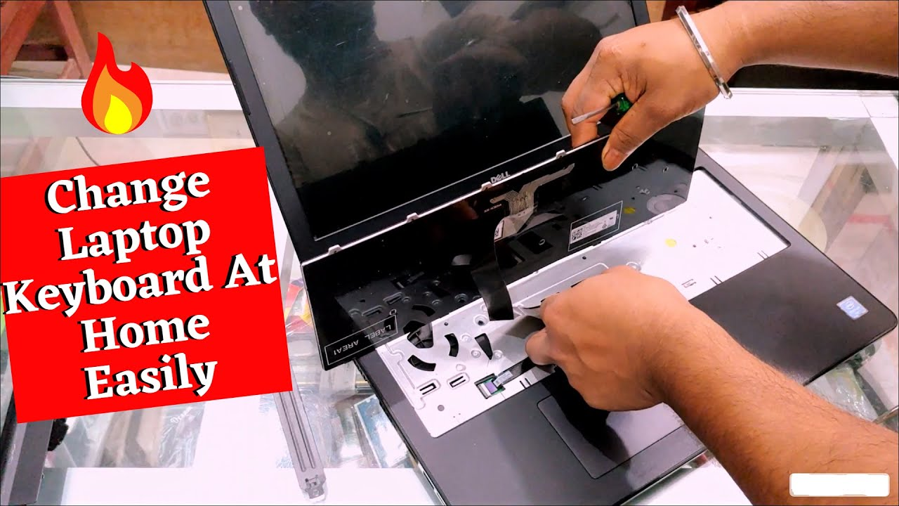 How to Change Laptop Keyboard At Home || Dell p47f Laptop Keyboard Change || Laptop Keyboard ||
