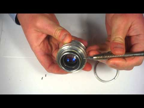 How to lubricate Jupiter-8 2/50 m39 prime russian lens (quick method)