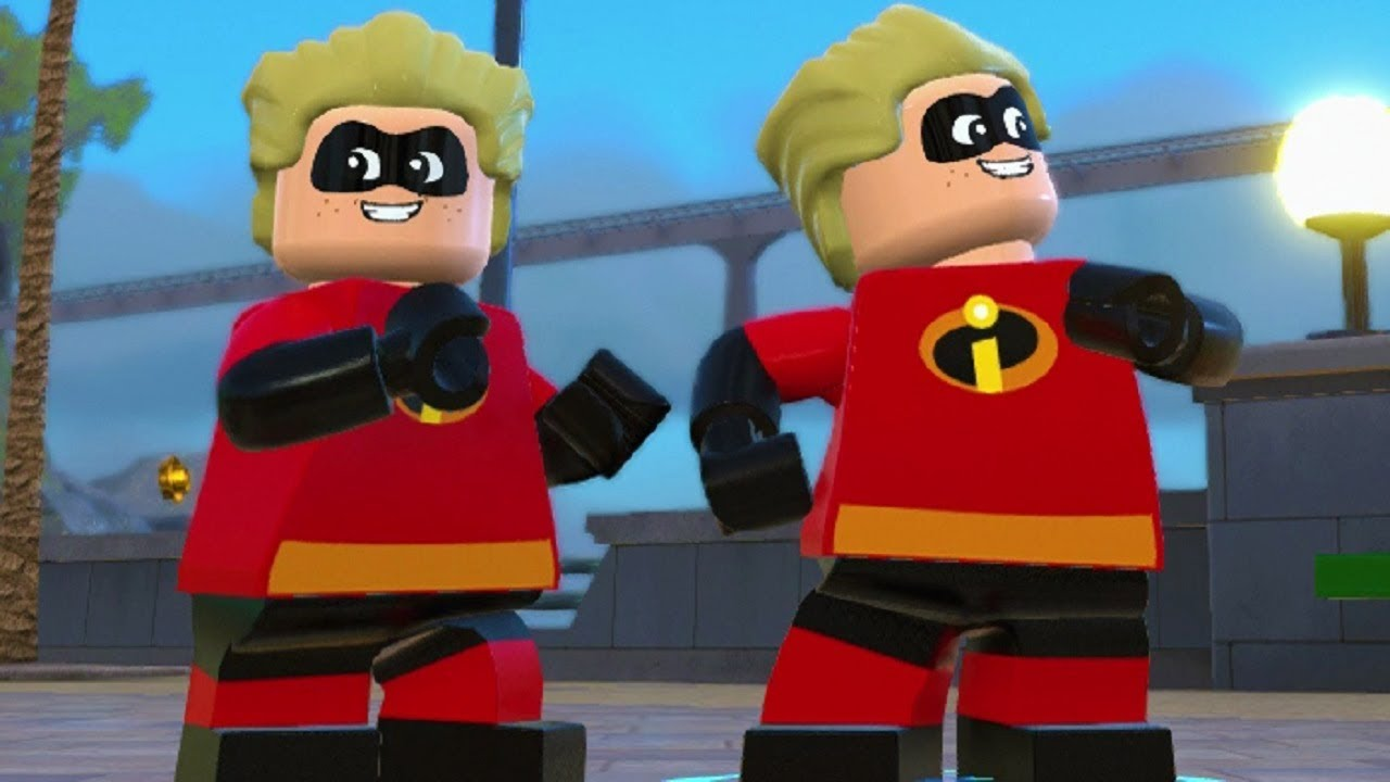 LEGO The Incredibles - Dash Super Speed Open World Gameplay (Character Showcase)