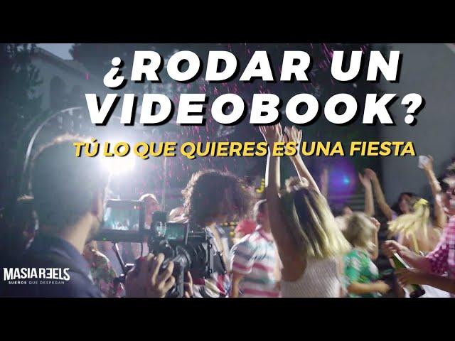 ¿Grabar un videobook? - Tú lo que quieres es una fiesta