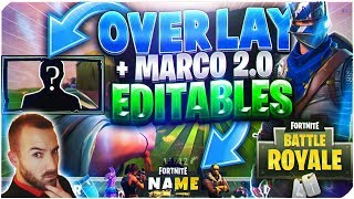 PACKS MARCOS 2.0 EDITABLE GRATUIT À DOWNLOAD - GAMEPLAYS FORTNITE TUTORIAL