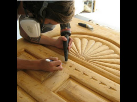 Wood Door Refinishing and Repair Overview - YouTube