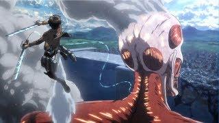 Download lagu Eren & Armin VS Bertholdt The Colossal Titan - Shingeki no Kyojin Season 3 Part 2 - AMV