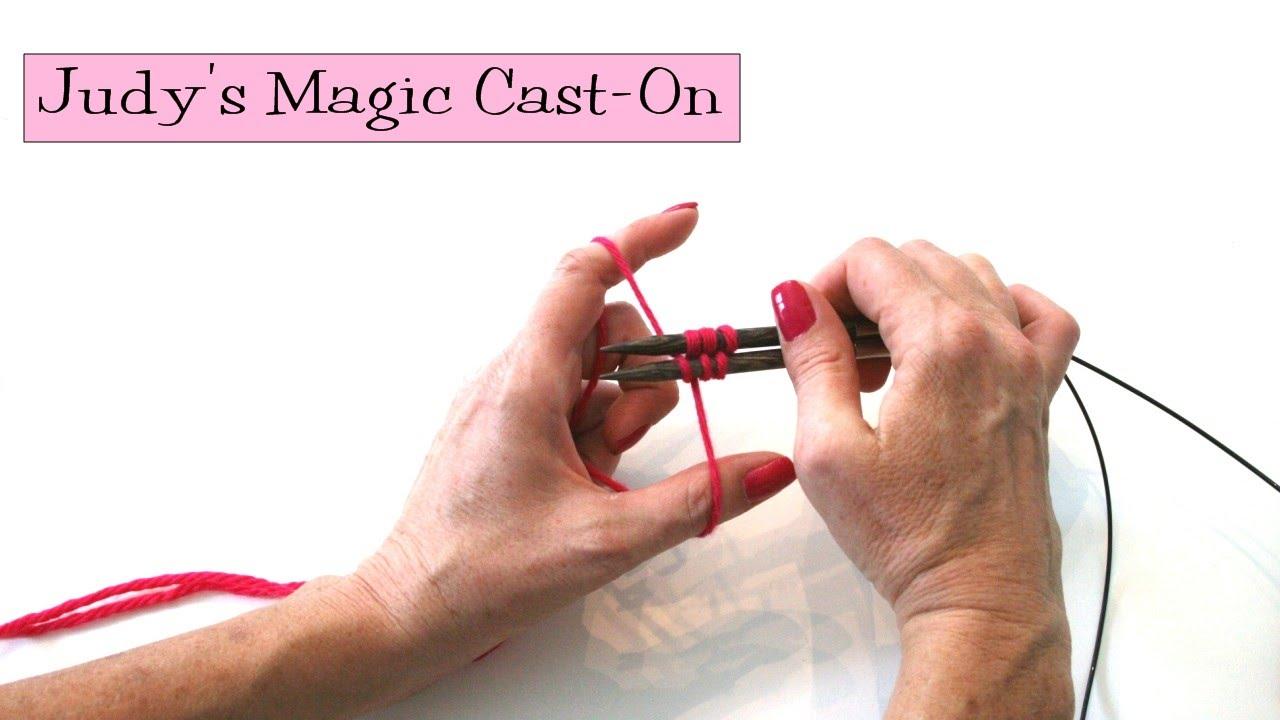 Knitting Help - Judy's Magic Cast-On