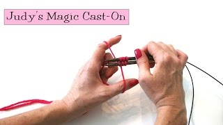 Knitting Help - Judy's Magic Cast-On