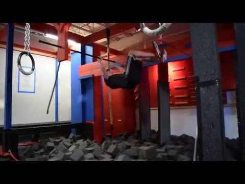 American Ninja Warrior competition- 2/28/16- Greg Hanson