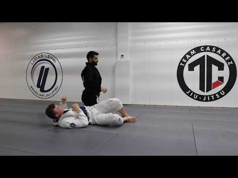 Guard Stack Pass From Closed Guard | Casarez BJJ