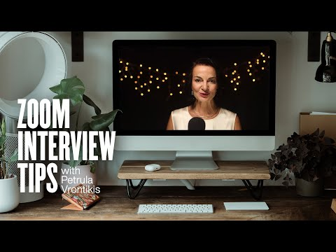Zoom Interview Tips and Role Play