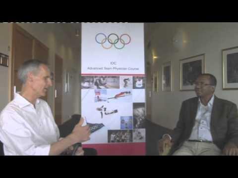 Dr. Abdulkadir Mu'azu - Football doctor for Olympic Gold, Sports Physician