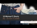 10 Women'S Shorts By Arrive Guide Spring 2017 Collection