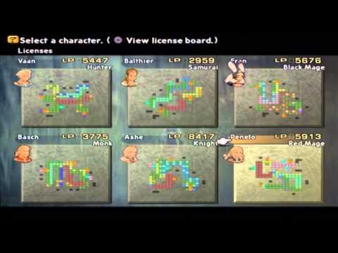 Final Fantasy XII International Zodiac Job System - Almost Perfect ...
