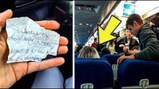 Man Wouldn't Let Officer Sit In Coach Then She Slips Him A Note  You Won't Believe What Happens Next