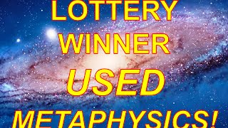 Cynthia Stafford Won the Lottery with Metaphysics and Visualization Techniques