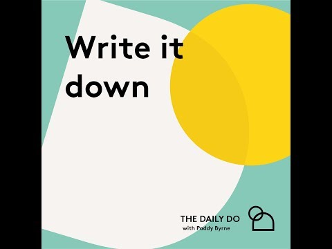 Do Get It In Writing! - Day 21