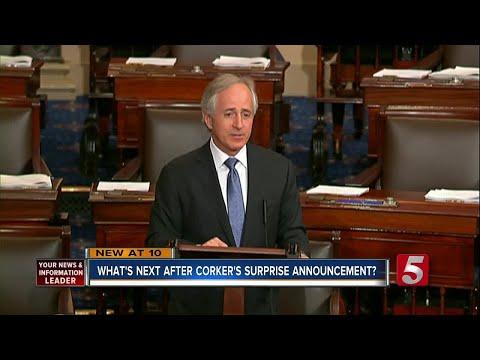 Senator Bob Corker Will Not Seek Re-Election Next Year