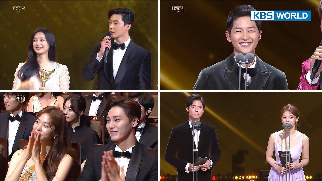 2017 KBS Drama Awards   2017 KBS 연기대상 - Part 2 [ENG/2018 01 07]