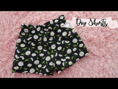 DIY Shorts + how to make pattern | Ruffled Top