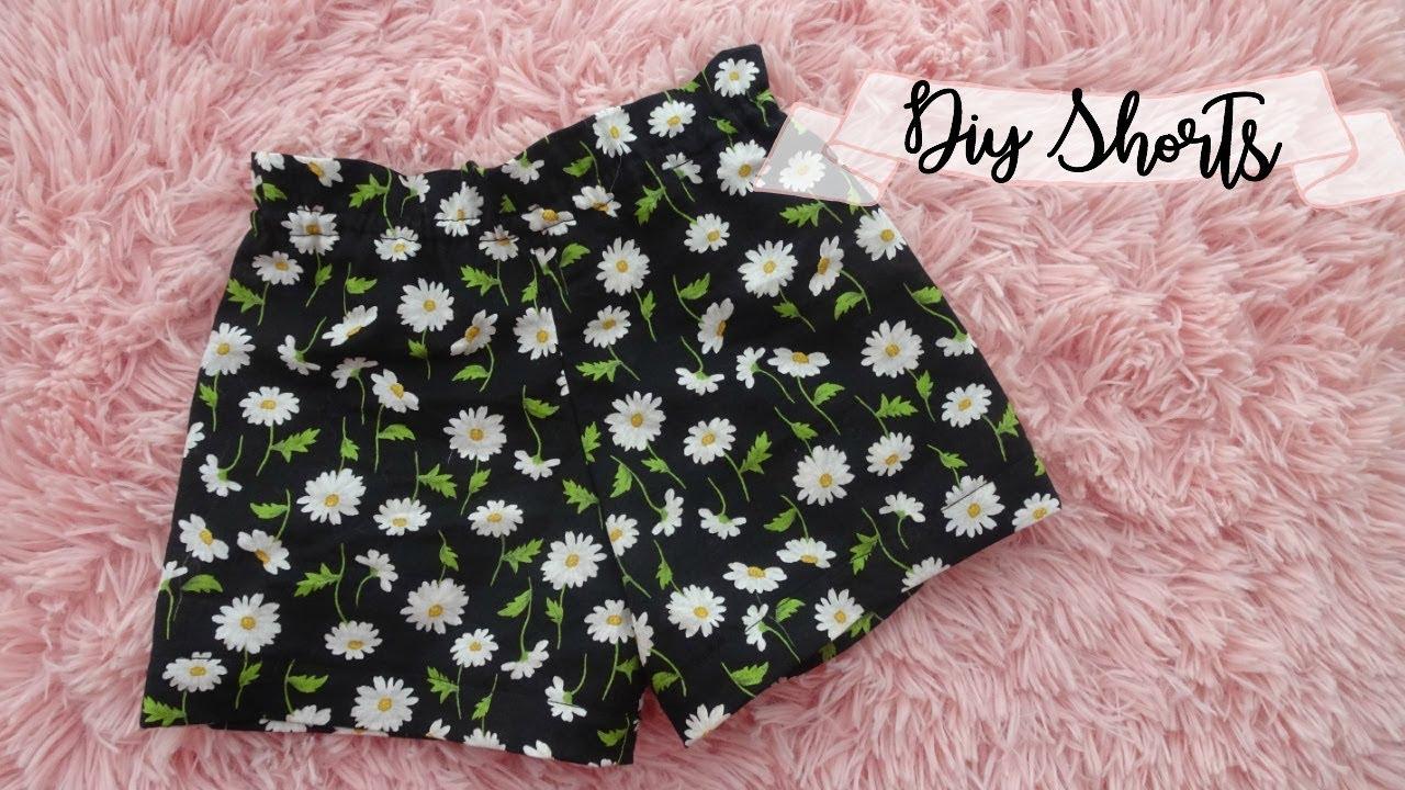 Download DIY Shorts + how to make pattern | Ruffled Top