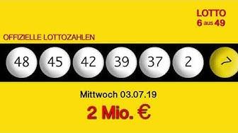 Lottozahlen 03.07.19 Lotto6aus49