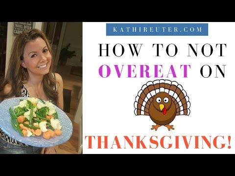 8 Methods to Avoid Overeating on Thanksgiving