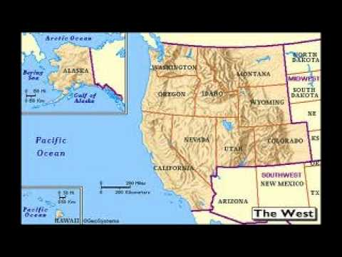 West Region of the United States Of America U.S. Regions ep1