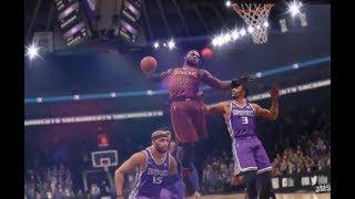 NBA Live 18 Cavs vs Kings Gameplay Awesome Back n fourth Game!!!