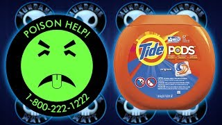 Eating Tide Pod Challenge sends College Kid to Hospital