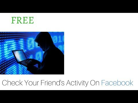 Facebook activity tracker? How to track someone's activity || See what people's liked or commented