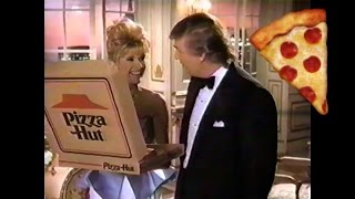 Donald and Ivana Trump's Old Pizza Hut Commercial