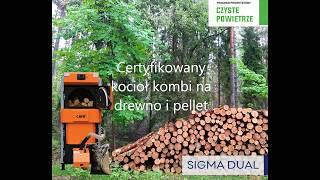 Działanie kotła c.o na drewno i pellet Sigma dual 25 - piec kombi z certyfikatem na Czyste Powietrze