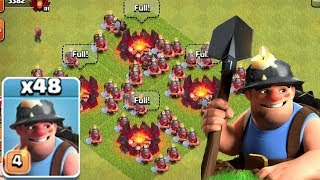 Clash of clans gots destructive minners-Unstoppable