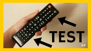 How To Test Remote Control