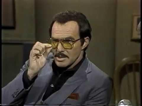 Burt Reynolds on Late Night, December 11, 1984