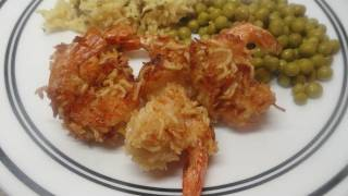 Cooking With Ramen (instant Noodles) #4: Coconut Shrimp