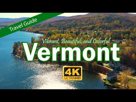 Vermont Travel Guide - The Green Mountain State
