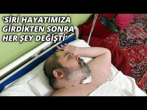 Doktorların 2 Yıl ömür Biçtiği Ali, Siri Ile Hayata Tutundu