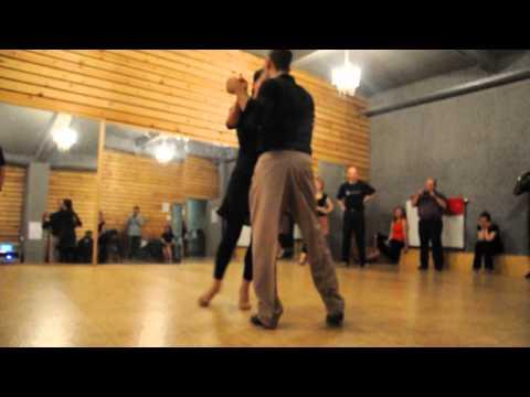Sonja & Sven workshop tango va...