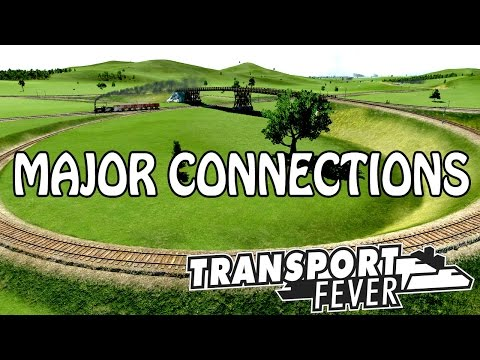 Complicated Rail Connections | Transport Fever Free Play | Episode 3