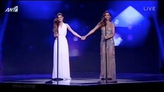 Δέσποινα Βανδή & Άννα Βιλανίδη - Greatest love of all | The Voice of Greece - 6th Live Show (S02E18)