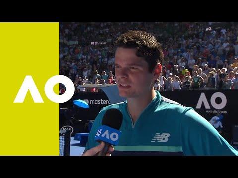 Milos Raonic On-court Interview (4R) | Australian Open 2019