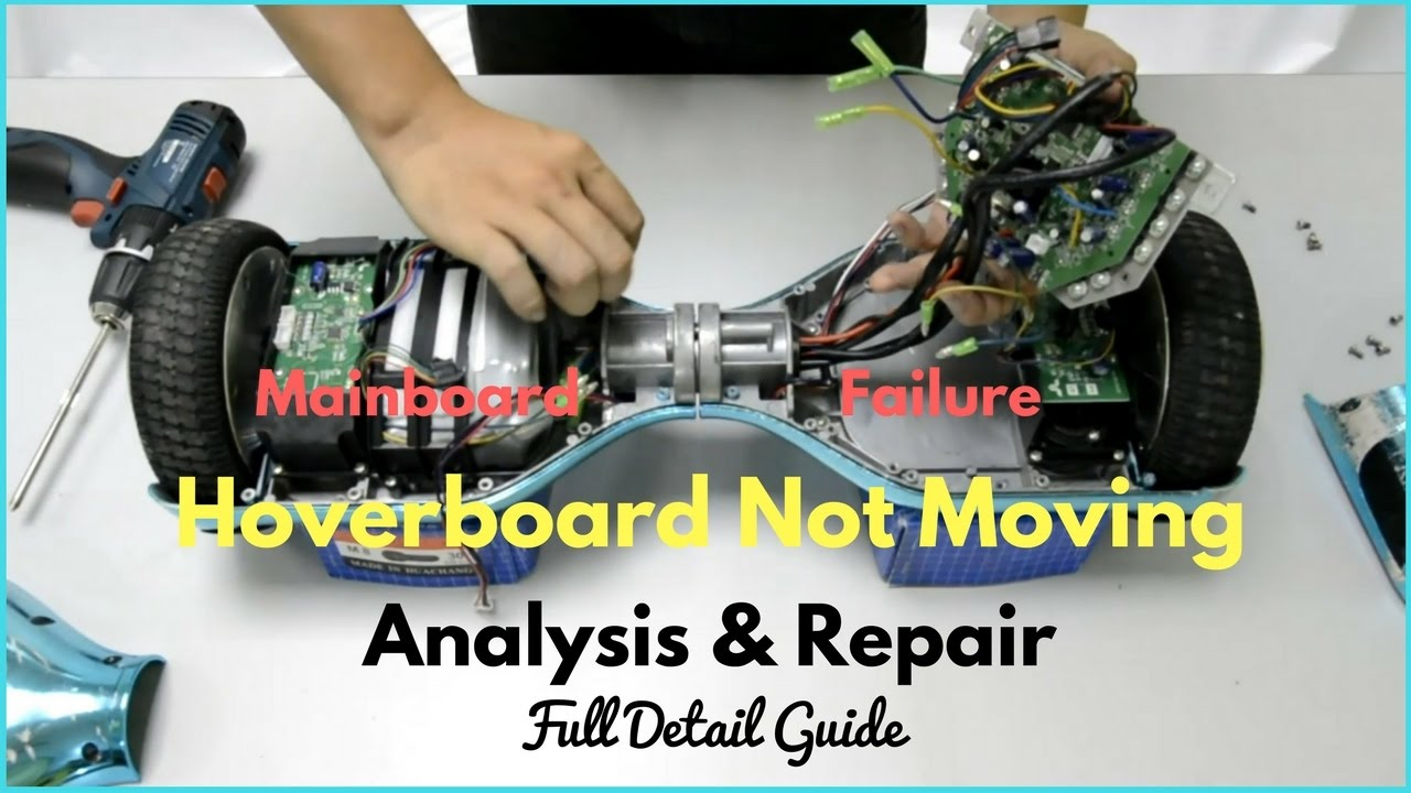 9 Pin Wiring Diagram Hoverboard Not Moving Troubleshooting Repair Wheel Stuck